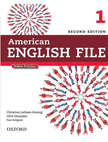 American English File 1 2nd |کتاب انگلیش فایل 1|کتاب امریکن انگلیش فایل 1|کتا انگلیش فایل قرمز