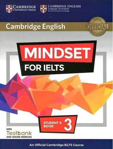 Mindset For IELTS | خرید کتاب آزمون کمبریج مایند ست فور آیلتس 3| 3 Mindset for IELTS|خرید کتاب زبان |خرید کتاب ایلتس |کتاب مایندست فور آیلتس |کتاب مایندست 3|خرید اینترنتی کتاب زبان |
