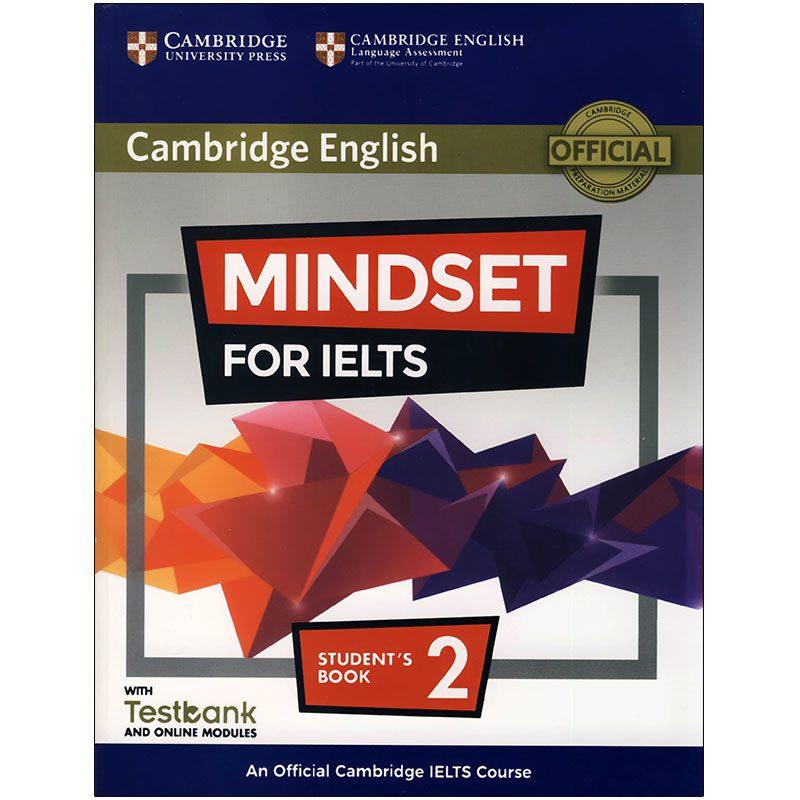 Mindset For IELTS | خرید کتاب آزمون کمبریج مایند ست فور آیلتس 2| 2 Mindset for IELTS|خرید کتاب زبان |خرید کتاب ایلتس |کتاب مایندست فور آیلتس |کتاب مایندست 2|خرید اینترنتی کتاب زبان |