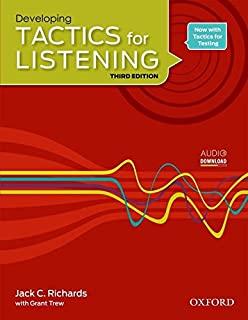 Tactics for Listening Developing 3rd | کتاب Tactics for Listening Developing | خرید کتاب Tactics for Listening Developing | کتاب تکتیکس فور لیسنینگ | خرید کتاب تکتیکس فور لیسنینگ |کتاب تکتیک دولوپینگ | خرید کتاب زبان |کتاب تکتیکس قرمز|